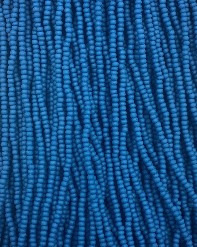 SIZE 11/0 #195m French Blue Matte