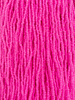 SIZE 11/0 #1502m Matte Neon Pink Lined