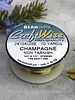 CRAFT WIRE 24GA ROUND 10YD CHAMPAGNE GOLD