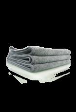 Chemical Guys Workhorse Gray Professional Grade Microfiber Towel 16''X16'' (Metal) (3 Pack)