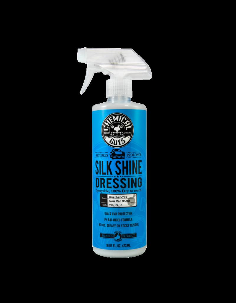 Chemical Guys Silk Shine Spray Dressing Natural Shine Dressing+Protectant (16 oz)