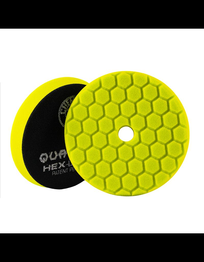 Hex-Logic Hex-Logic Quantum Buffing Pad -Yellow 5.5''