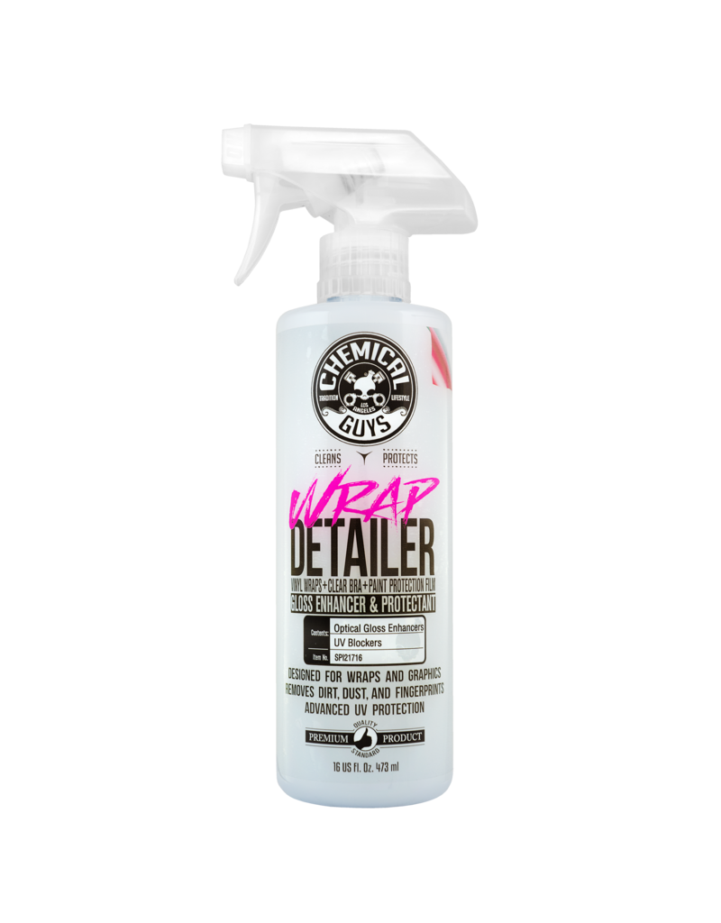 Chemical Guys Wrap Detailer Gloss Enhancer & Protectant (16 oz)