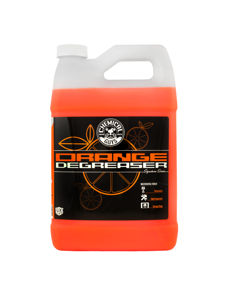 Chemical Guys Orange Degreaser Plus (1 Gal.)-New Formula