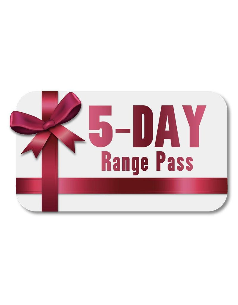 Green Valley Range Save $25 with our 5-day range pass!