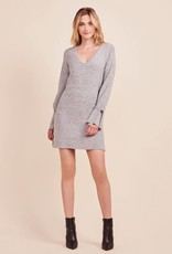 Cupcakes and Cashmere Jennibelle Sweater Dress Grey