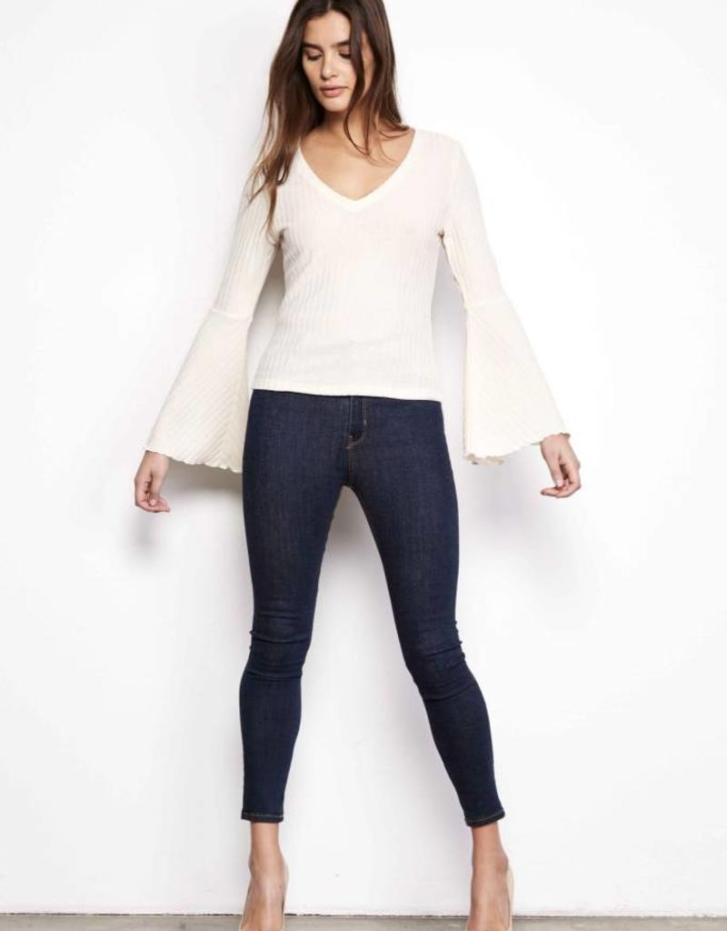 Jack Bell Sleeve Sweater Pink