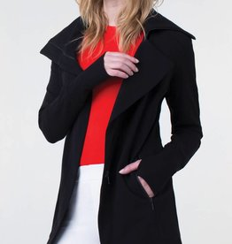 Liverpool Asymmetrical Jacket Black