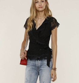 Kohko Lace Top Black