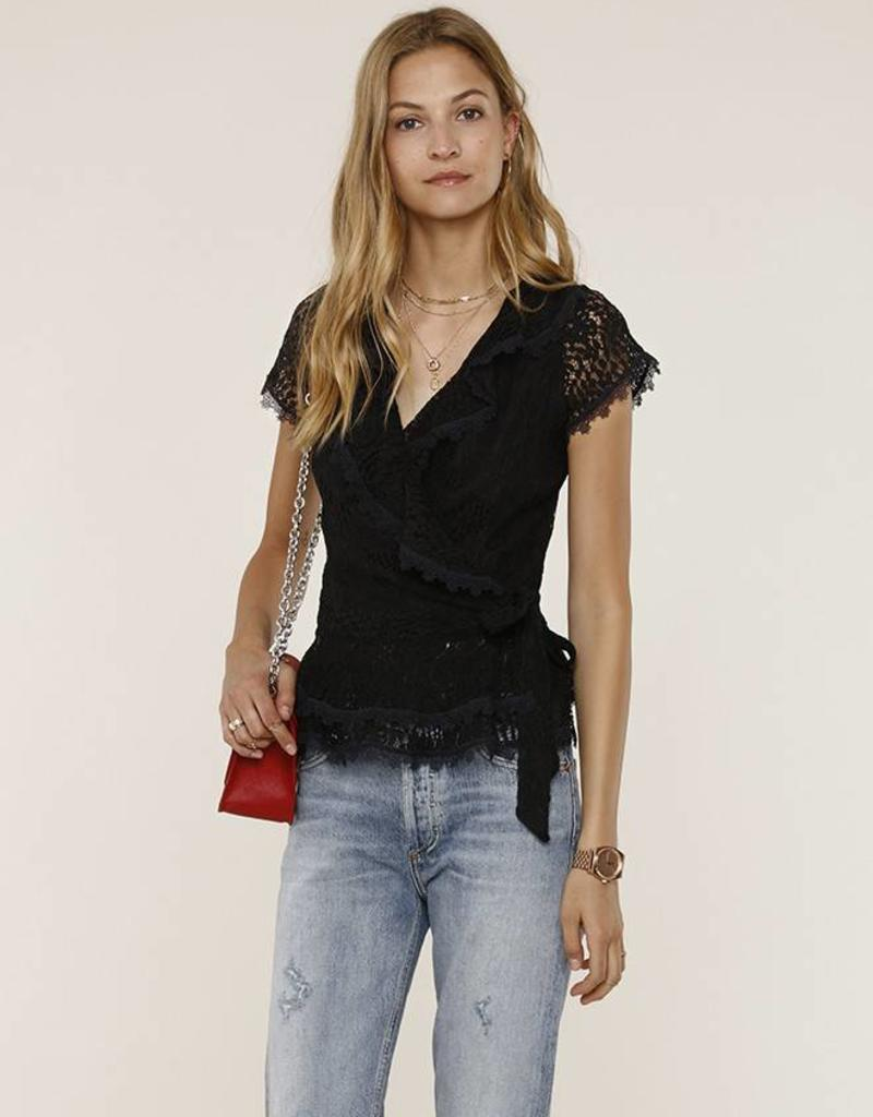 Heartloom Kohko Lace Top Black