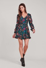 Jack Petal Down Floral Dress Green