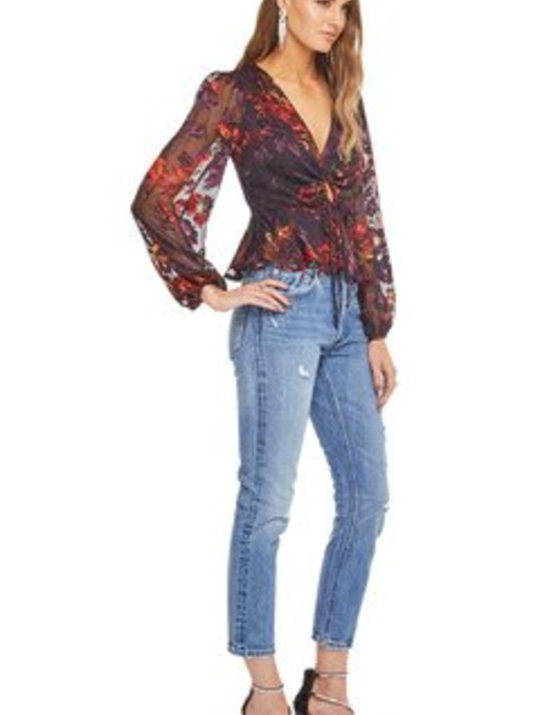 Gianna Top Floral