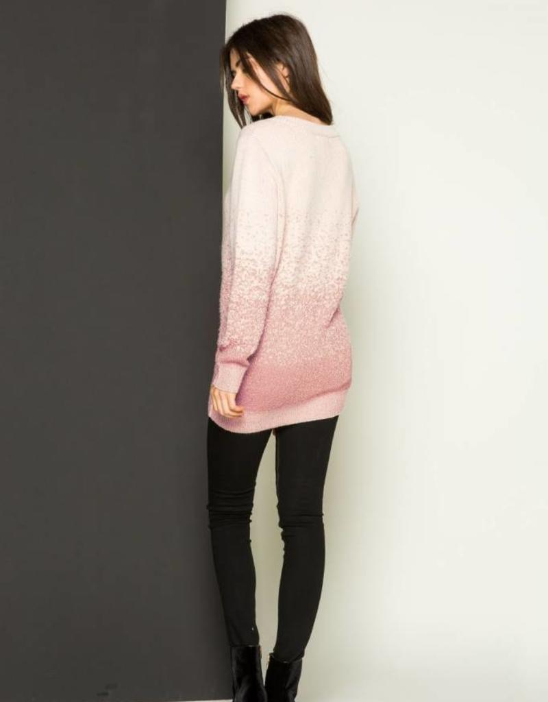 THML Clothing Ombre Sweater