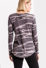 Z Supply Camo LS Top