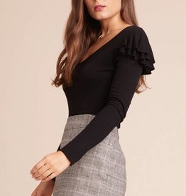 Jack Ruffle Shoulder Top