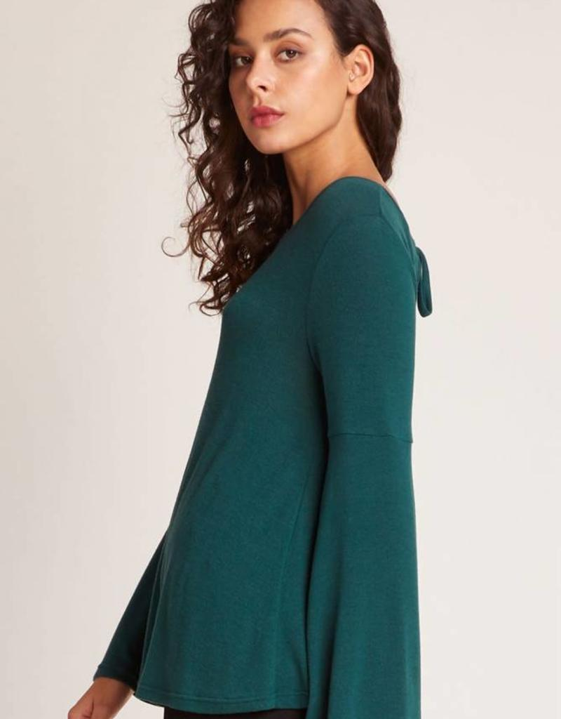 Jack Bell Sleeve Top Green