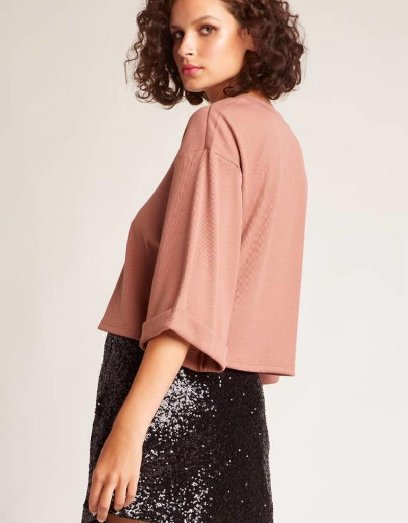 Jack Time To Shine Sequin Skirt Black