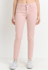 Just Black Denim Color Basic Denim Pink