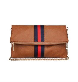Sport Stripe Clutch