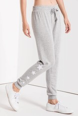 Z Supply Linear Star Jogger Grey