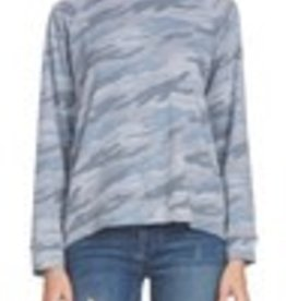 Elan Camo Tie Back Top