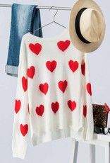 Trend:Notes Heart Sweater