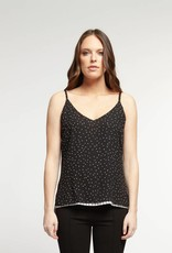 Dex Reversible Tank Top Black/White