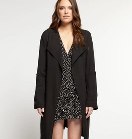 Dex Duster Jacket Black