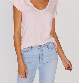 Ruby Scoop Tee