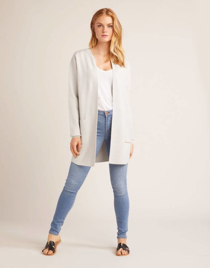 Cupcakes and Cashmere Westlake Cardigan Grey