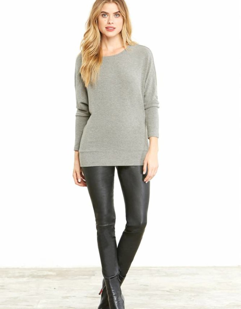 Cupcakes and Cashmere Ivery Pullover Grey