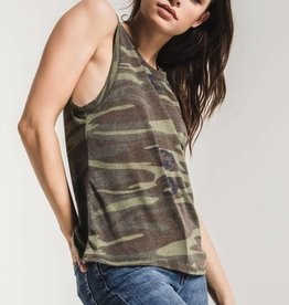 Z Supply Camo Muscle Tee