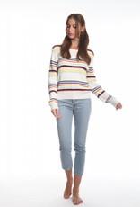 Olive and Oak Florence Stripe Sweater Multi