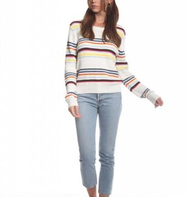 Olive and Oak Florence Stripe Sweater Multi