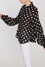 Sanctuary Slone Blouse Polka Dot
