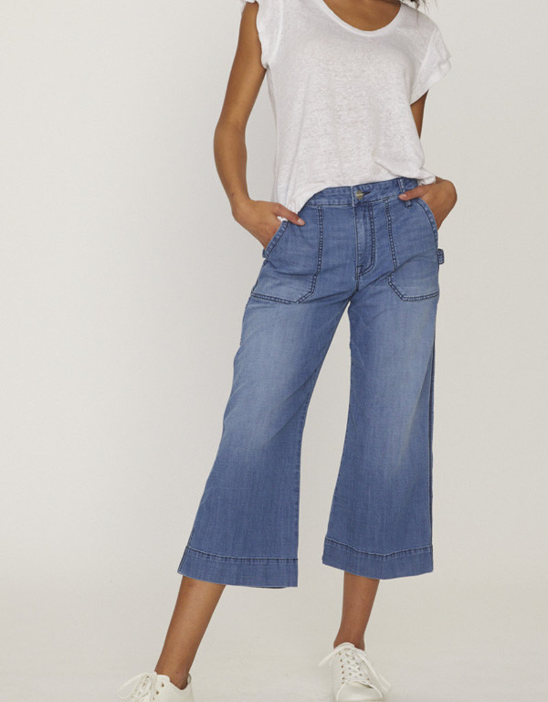 Sanctuary Wide Leg Crop Jean