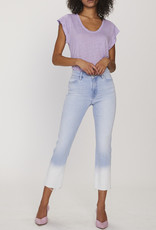Straight Crop Dip Dye Jean