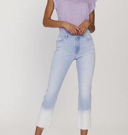 Straight Crop Dip Dye Jean