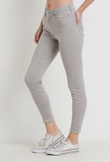 Just Black Denim Colored Skinny Light Grey