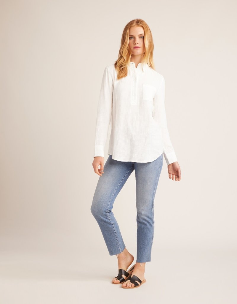 Jack All Buttoned Up Top White