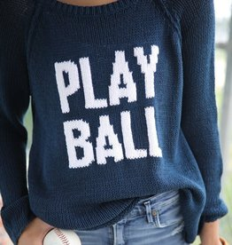 Wooden Ships Play Ball Sweater