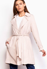 BB Dakota Rocco Trench Coat  Bone