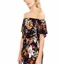 Veronica M OTS Floral Romper