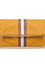 Moda Luxe Sport Stripe Clutch