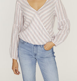 Sanctuary Sand Dune Wrap Top Stripe
