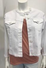 Sanctuary Addie Cropped Jacket White