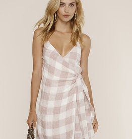 Heartloom Whyatt Dress Pink Check
