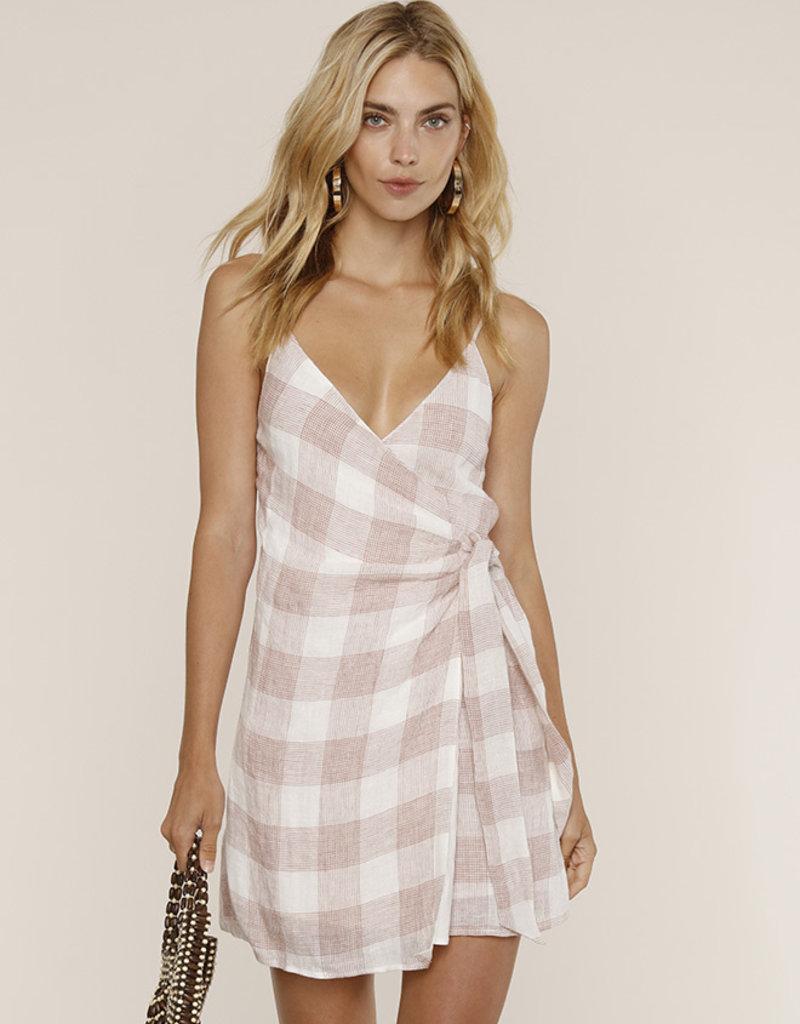 Heartloom Whyatt Dress Pink Check