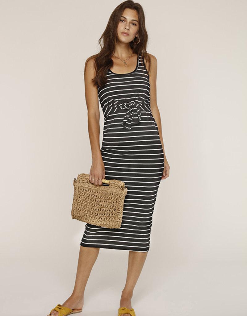 Heartloom Kenzie Dress Black Stripe