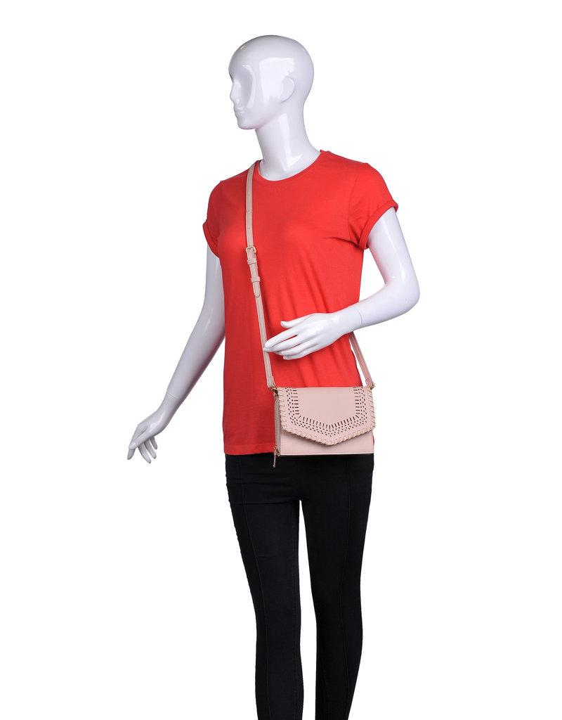 Moda Luxe Crossbody Perf w/ Stitch